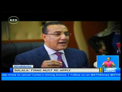 Victory for Balala following ruling to cancel Cortec mining licence