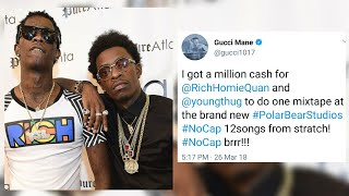 Rich Homie Quan reacts to Gucci asking him & Young Thug to collab on a whole project