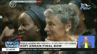 World leaders bid farewell to diplomat Kofi Annan