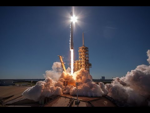spacex falcon 9 koreasat 5a launch and first stage landing 30 october 2017