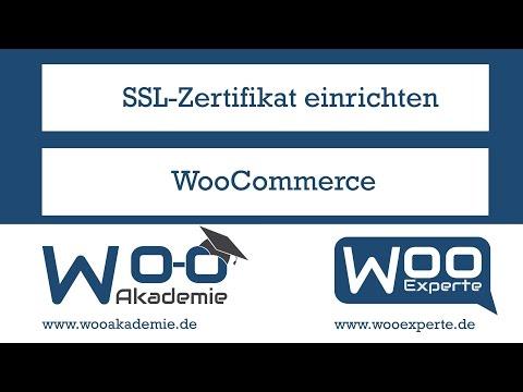 SSL Zertifikat in WooCommerce und WordPress einrichten... - Hài nổi