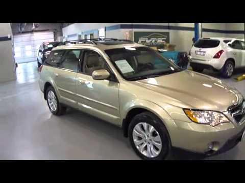 Subaru Ll Bean >> 2008 Subaru Outback 3.0R LL Bean at Dupage Motorcars - YouTube