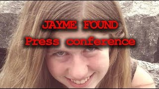 Jayme Closs Press Conference - She was FOUND alive