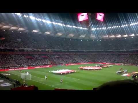 Polska- Niemcy Hymny 2:0 Polen-Deutschland Hymne 11.10.2014 !!!