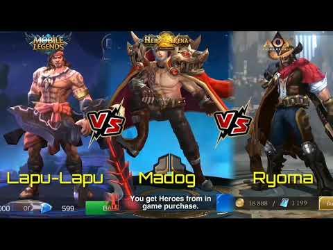 Mobile Legends Vs Heroes Arena Vs Arena Of Valor