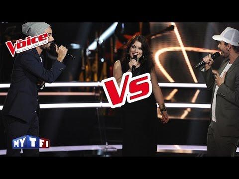 The Voice 2016 | Mood VS Twins Phoenix - Saint Claude (Christine & The Queens) | Battle