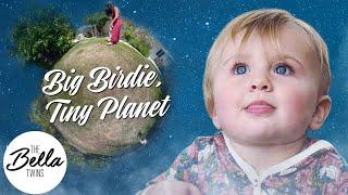 Birdie's tiny planet!