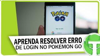 Como resolver erro de login infinito no Pokemon GO
