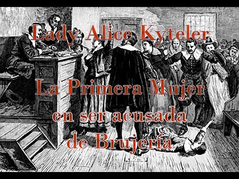 Lady Alice Kyteler #BrujasdelaHistoria