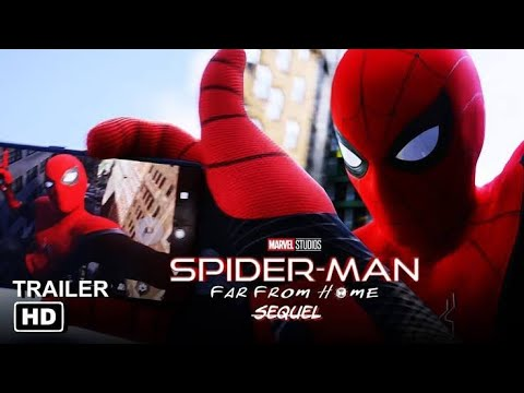 THE UNTITLED SPIDERMAN: far from home sequel official trailer (2021) Tom Holland movie