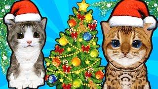 Симулятор маленького КОТЕНКА Новогодние приключения детский летсплей в мульт игре Cat Simulator
