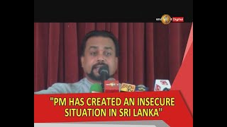 Wimal Weerawansa accepted Ranil as prime minister