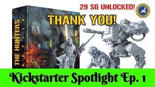 The Hunters AD 2114 - Kickstarter Spotlight EP.1