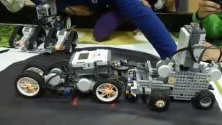 Механическое сумо LEGO