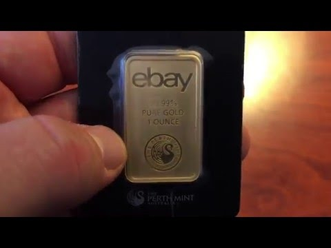 Unboxing EBay's 1 Ounce Gold Bar