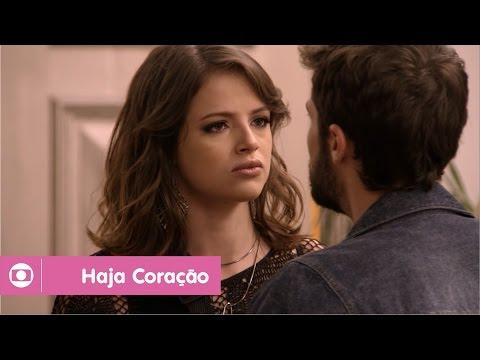 Haja Coração: capítulo 109 da novela, sexta, 7 de outubro, na Globo