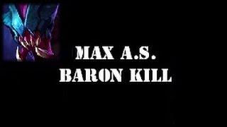 Rek'Sai- 2.5 Max Attack Speed & Baron Solo