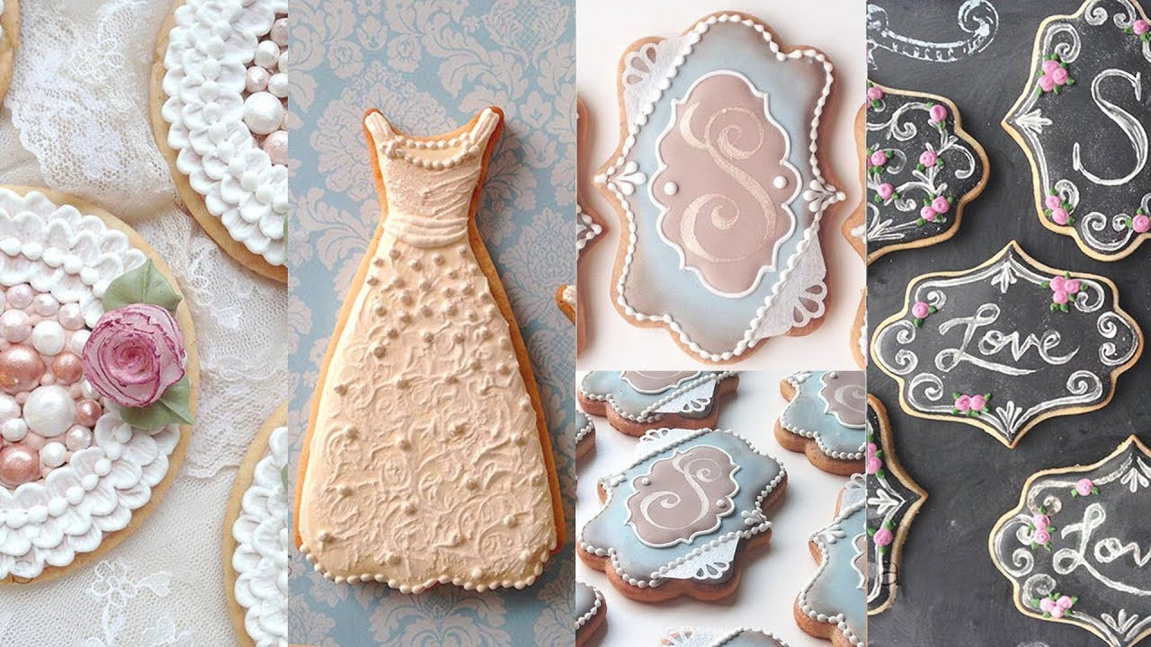 Cookies For Weddings Cookie Decorating Compilation By Sweetambs