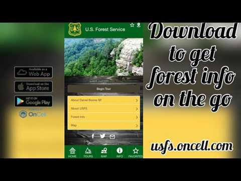 National Forest & Grasslands Explorer - How to Use the App