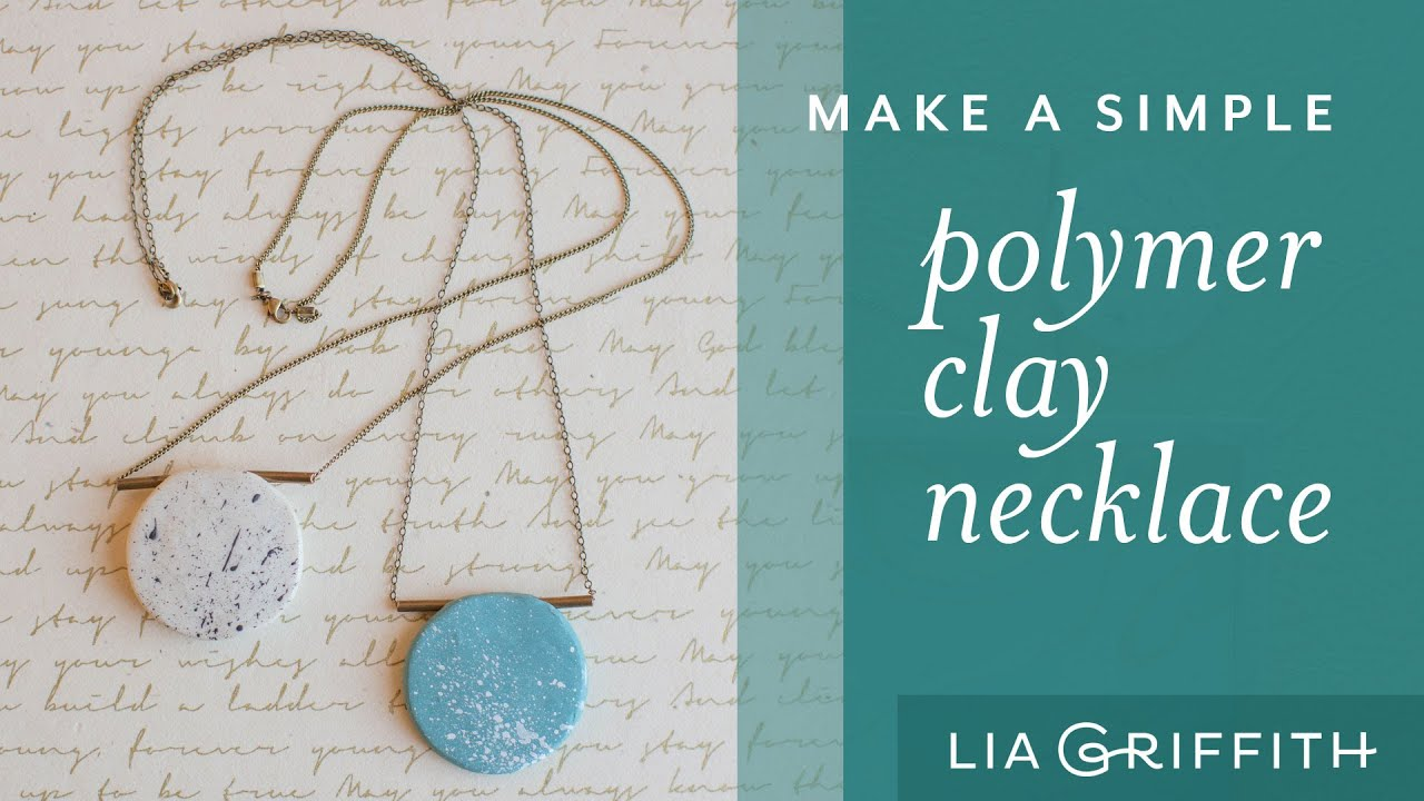 79a6d95830662 DIY Polymer Clay Necklace