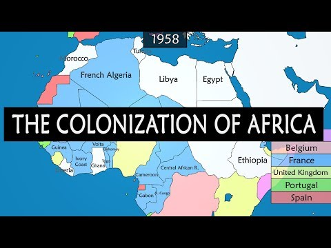 Colonization of Africa - summary from mid-15th century to 1980