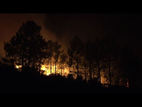 AFP news agency: Corsica wildfire spreads across French island