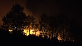 Corsica wildfire spreads across French island