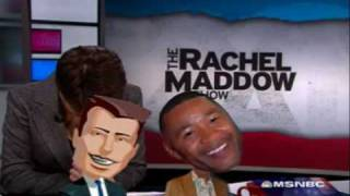 Rachel Maddow and staff punk their boss with Ozzie Smith