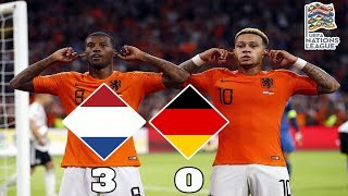 Netherlands vs Germany 3-0 Review | Germany Relegated? | UEFA Nations League