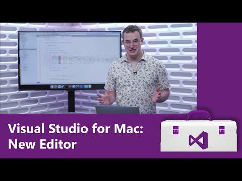 Visual Studio for Mac: New Editor