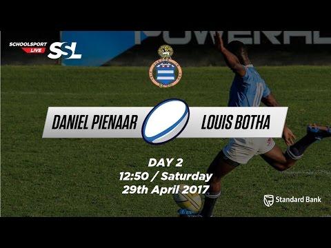 Grey Festival: Daniel Pienaar 1st XV vs  Louis Botha 1st XV, 29 April 2017
