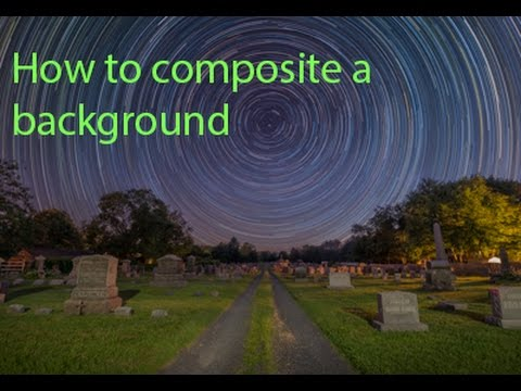 How To Composite A Different Background in Photoshop - YouTube