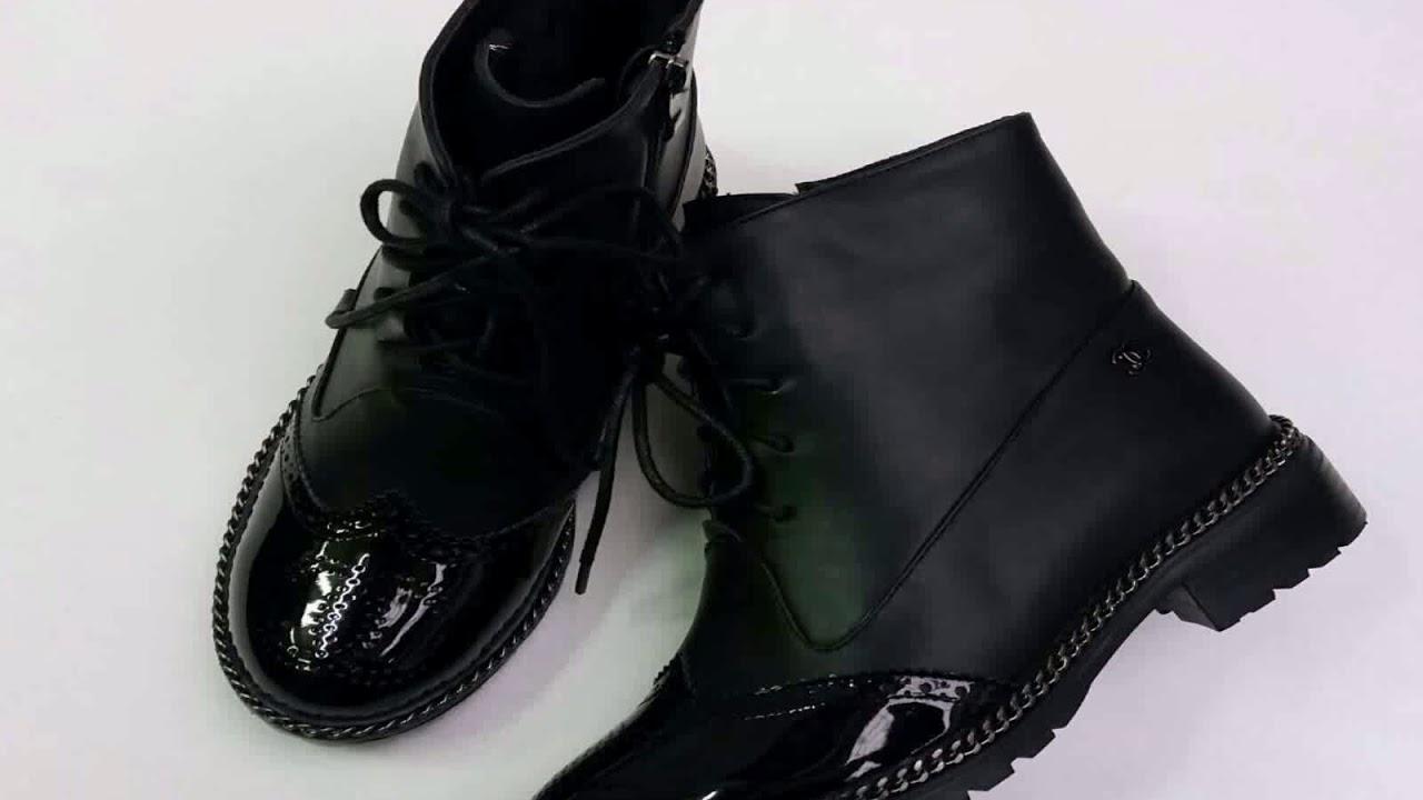 314b35a57 Зимние Высокие Ботинки На Шнуровке - YouTube