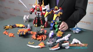Power Rangers Super Samurai Samurai Gigazord Set from Bandai America Incorporated