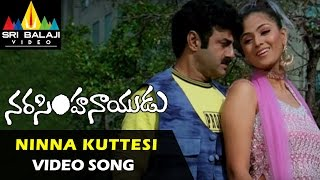 Narasimha Naidu Songs | Ninna Kuttesinaadi Video Song | Balakrishna, Simran | Sri Balaji Video
