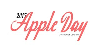 2017 Apple Day Convocation - Pittsburg State University