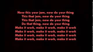 Janet Jackson - Burn it up LYRICS OFFICIAL feat. Missy Elliot