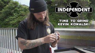 Kevin Kowalski Grinds Entire Skatepark! TIME TO GRIND | Independent Trucks