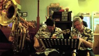 """""""MINNIE THE MERMAID"""": SUNNYLAND JAZZ BAND (Oct. 18, 2012)"""