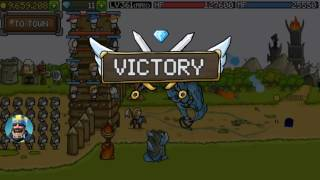 Grow Castle wave 9090 to 9145 time to skip