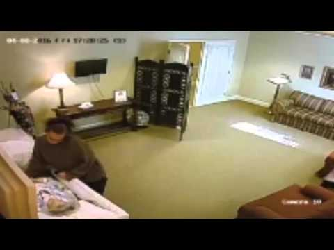 CAUGHT ON VIDEO: Odessa Texas woman steals ring off the finger of deceased woman in funeral home