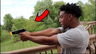 $1000 DOLLAR SHOOTING TARGET CHALLENGE (GONE WRONG)