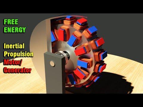 FREE ENERGY, Inertial Propulsion Motor Generator