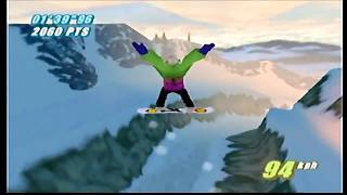 Twisted Edge Extreme Snowboarding | Part 12: Getting All New Best Times[N64]