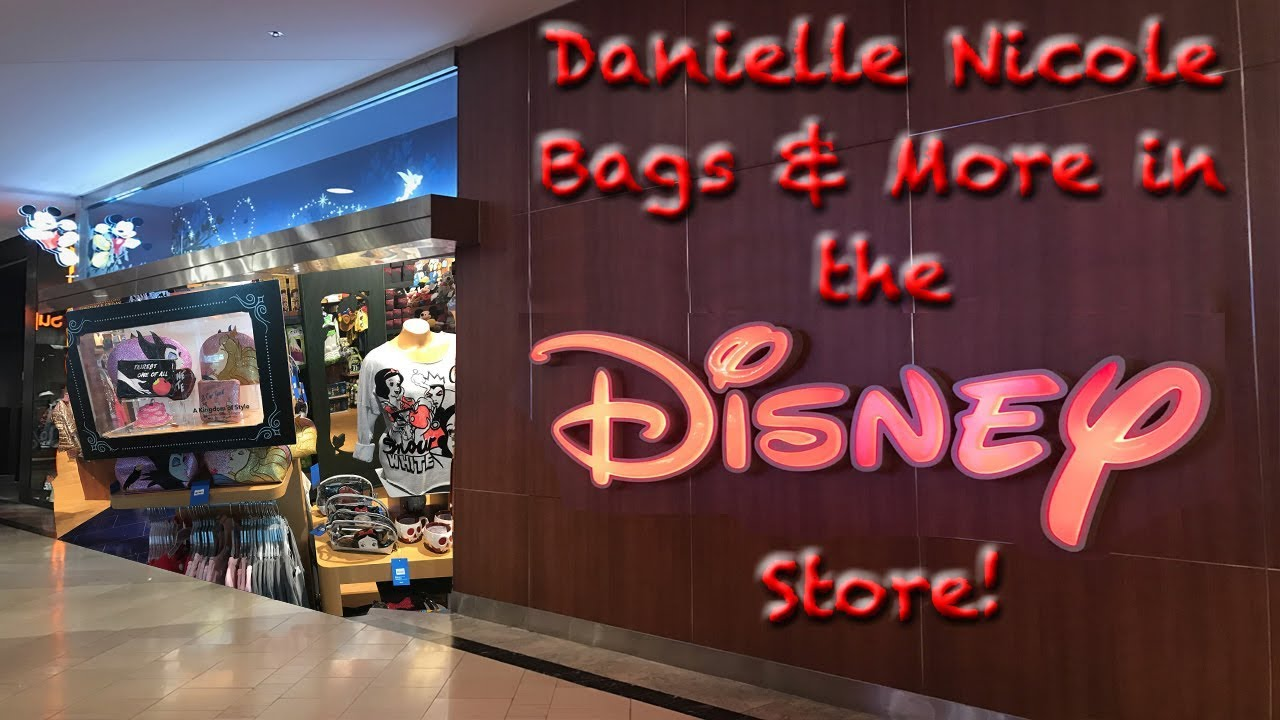danielle nicole bags more in the disney store youtube. Black Bedroom Furniture Sets. Home Design Ideas