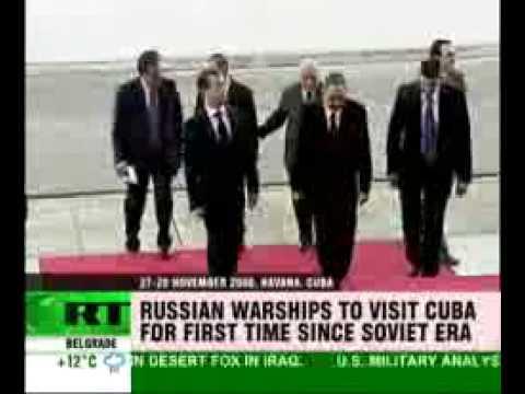 Russian Navy sails for Cuba
