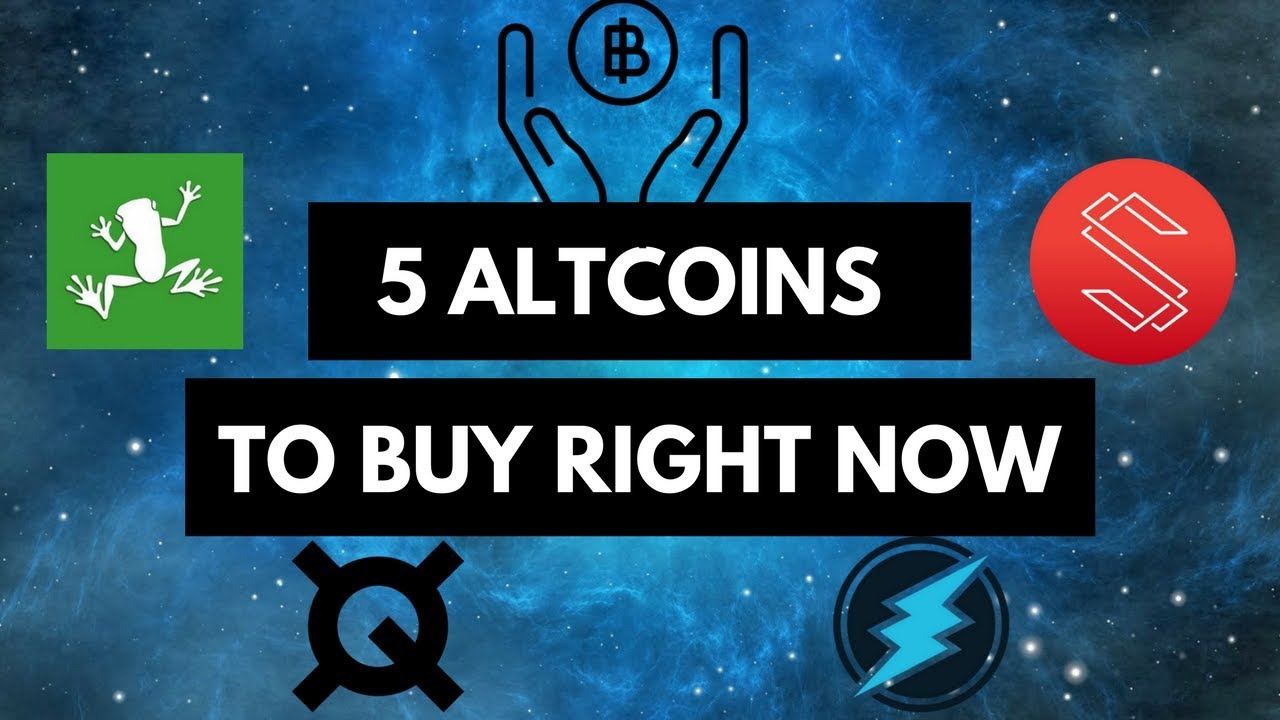 what altcoin to buy right now