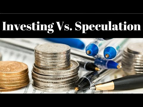 Value Investing Vs Speculative Investing