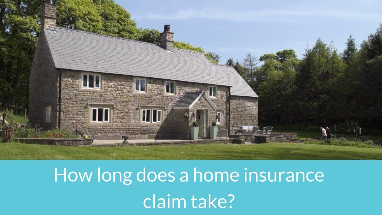 How long do home insurance claims take? | Morgan Clark