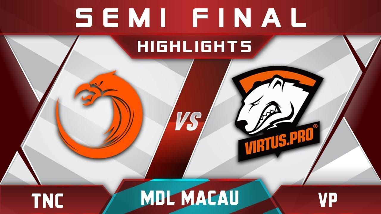TNC vs VP Semi Final MDL Macau 2017 Minor Highlights Dota 2